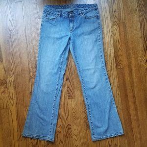 Michael Kors Studded Bootcut Blue Jeans Size 12